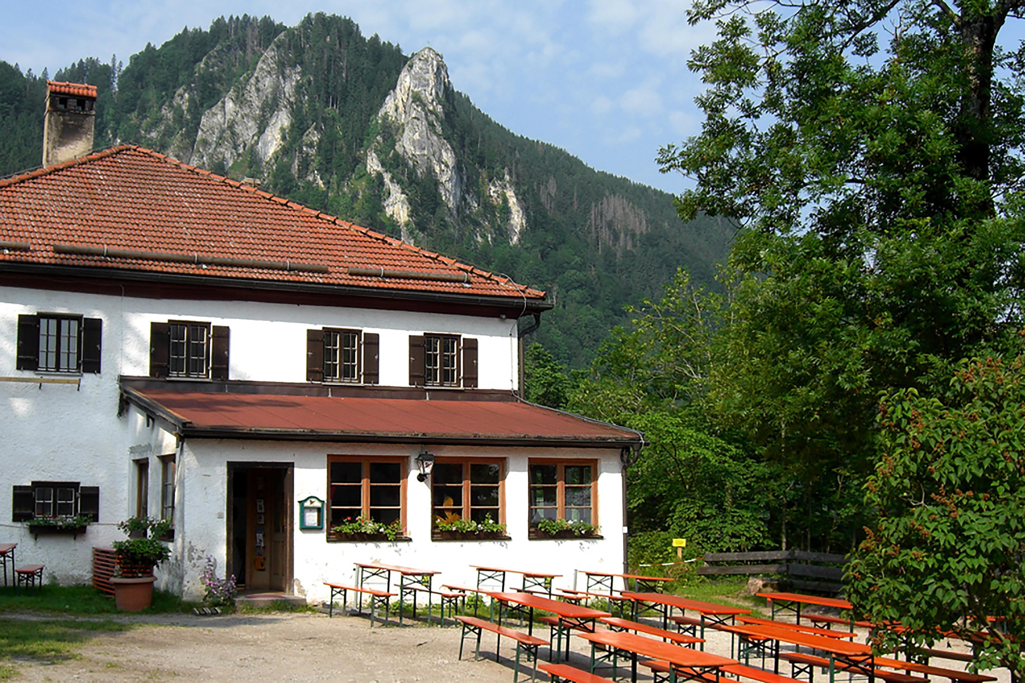 Berggasthaus Petersberg, Brannenburg, Hohe Asten