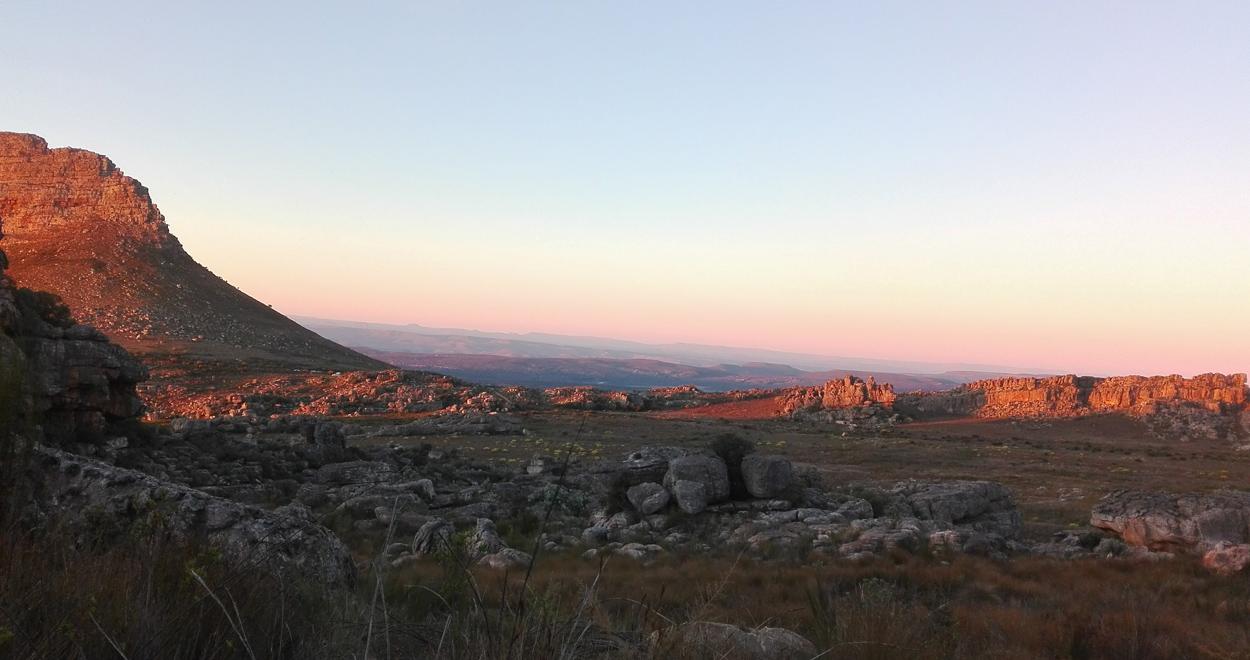 Rocklands sundown Südafrika