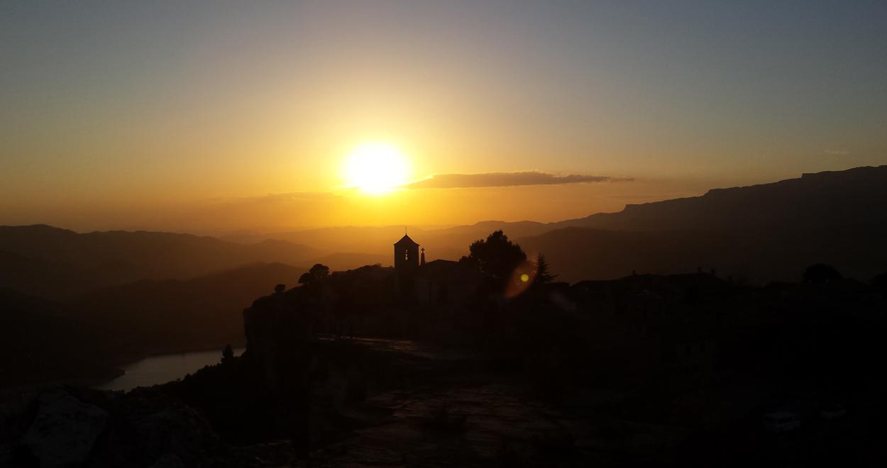 Sundowner in Siruana