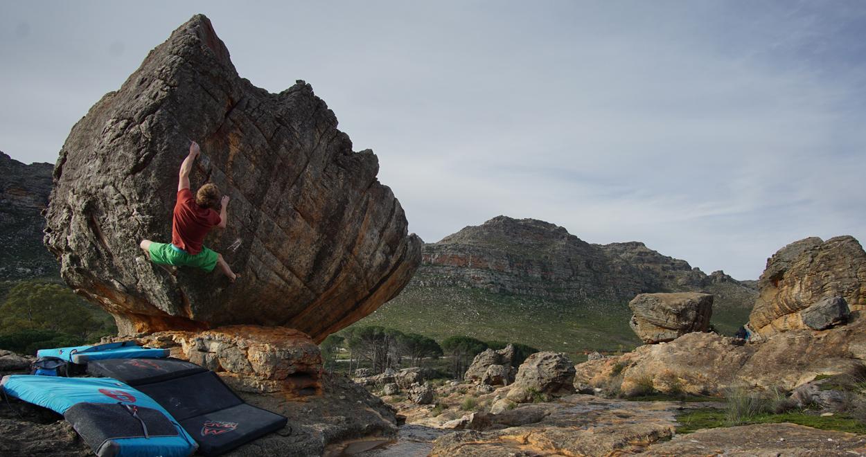 Südafrika Boulderurlaub Rocklands