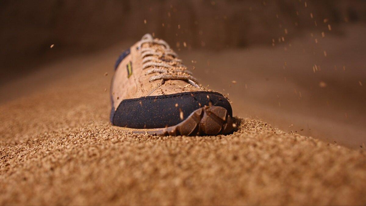 Doghammer Schuhe aus recycelten Korken