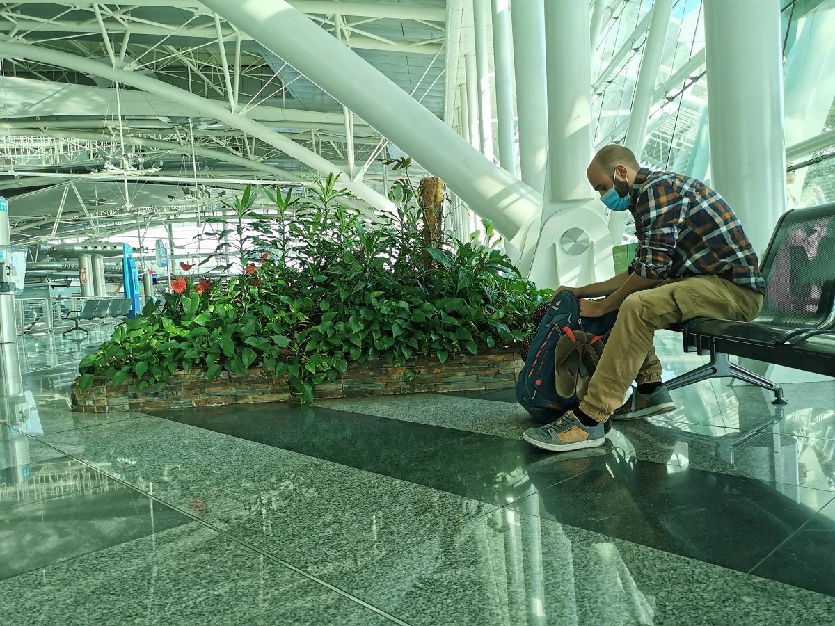 Porto Reisebericht - Warten am Flughafen