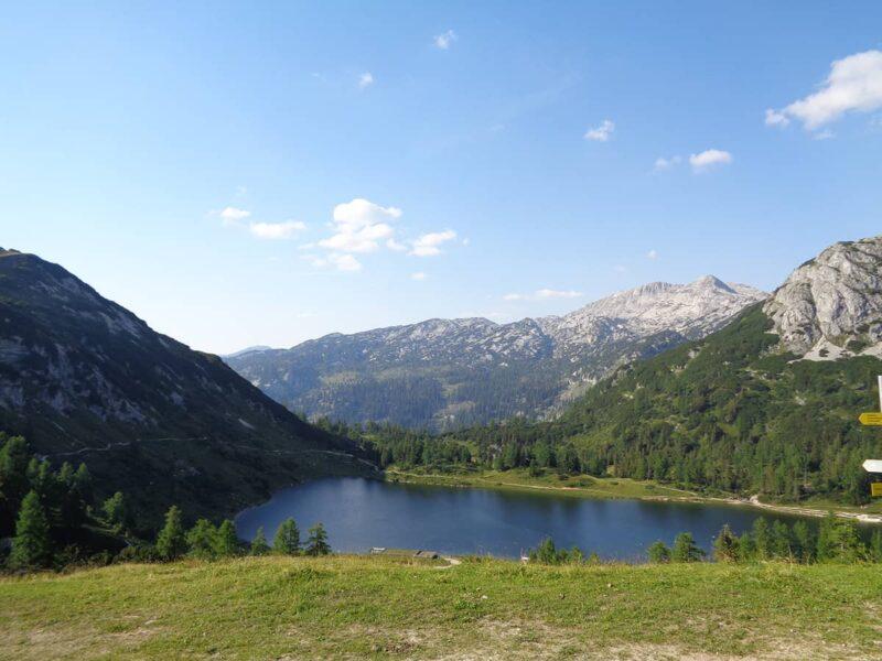 Großsee-Etappe auf der 6 Seen Wanderung