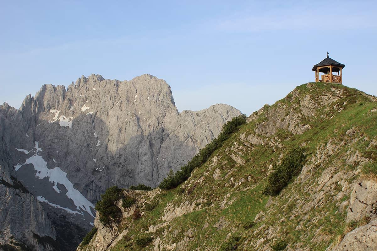 Biwakieren Tirol - Wilder Kaiser Übernachtung