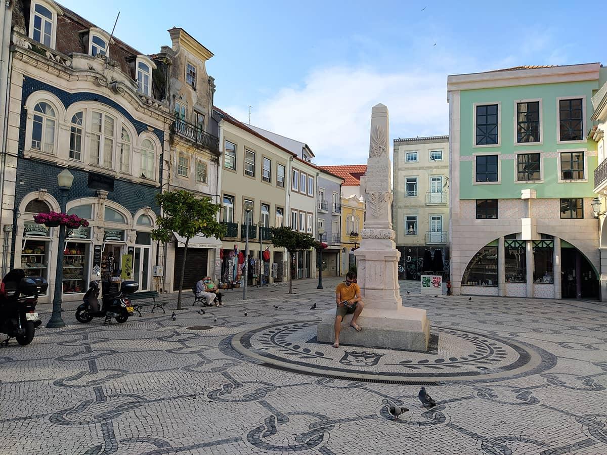 Mila in Aveiro Altstadt