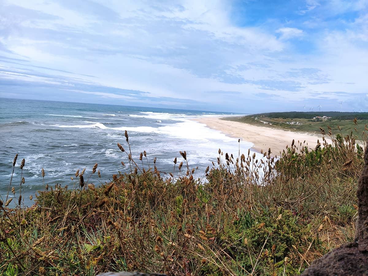 Nazaré in Portugal - Der North Beach