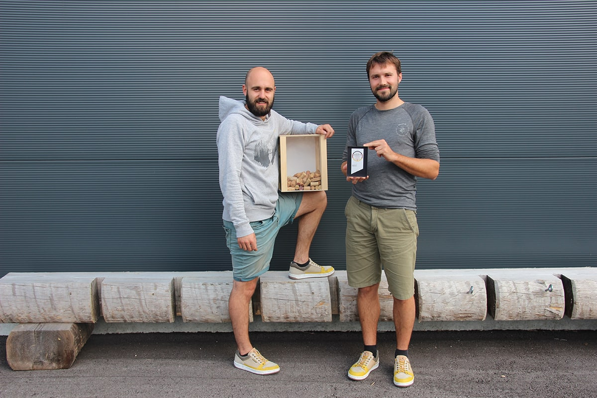 Deutscher Nachhaltigkeitspreis - Mila und Matthias - Gründer von Doghammer