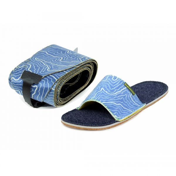 open slipper with climbing skin men