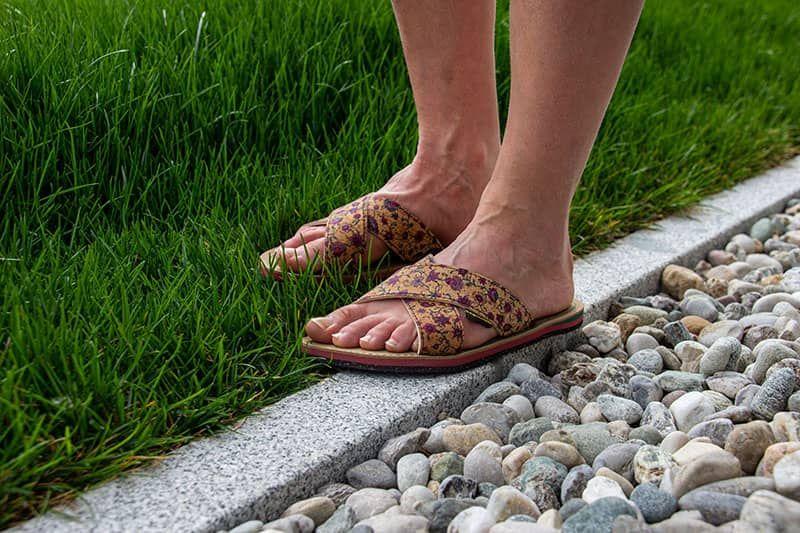 ökologische sommer sandale