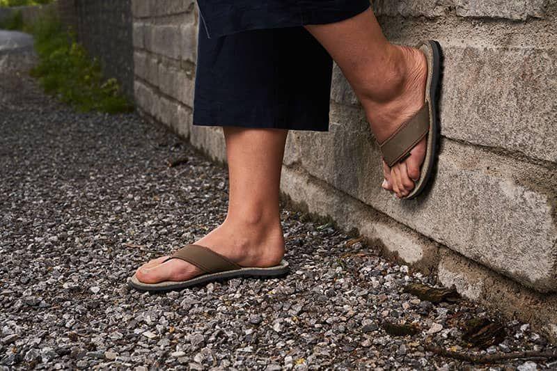 nachhaltige sandale