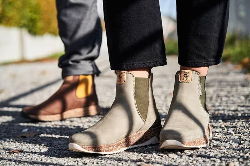 nachhaltiger leder sneaker für damen