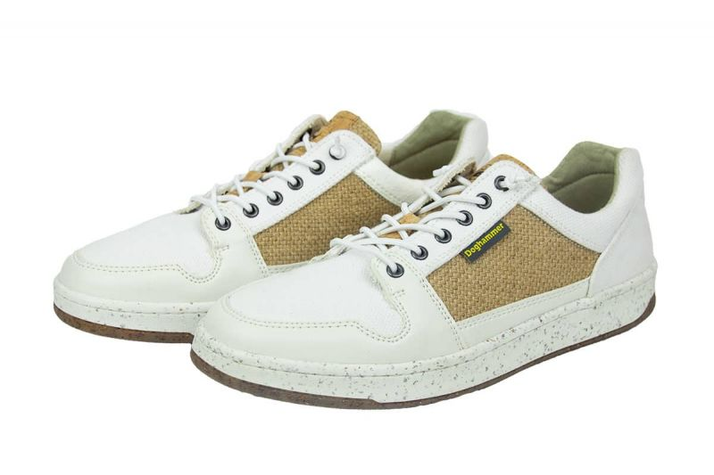 vegane sneaker weiß handgefertigt in europa